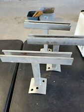 Set of 3 Power Pole Electric Pole Standoff Brackets Galvanized