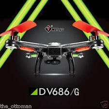 "V686G Headless Mode RC Quadcopter + 2MP HD Camera + LCD HD 5 "" Monitor + Xtras!!"
