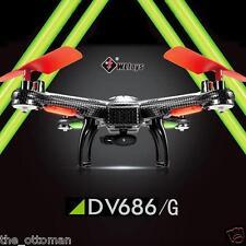 "V686G Headless Mode RC Quadcopter + 2MP HD Camera + LCD HD 5 "" Monitor + Xtras!!"