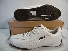 FILA SAVIO LOW CASUAL MEN SHOES WHITE/BROWN 1SD15025-164 SIZE 13 NEW