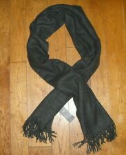 M&S COLLECTION WOMENS LONG SCARF WITH WOOL - BNWT - RRP £19.50 - CHARCOAL