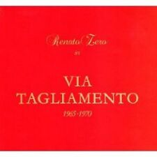 RENATO ZERO - VIA TAGLIAMENTO -2CD   POP-ROCK ITALIANA