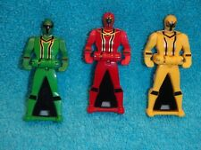POWER RANGERS Super Mega Force  Mystic Force  Ranger keys Yellow, Red, Green