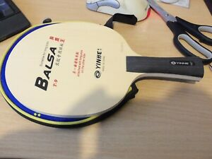 Yinhe T9 Balsa Table Tennis Combo Blade LP OX Included