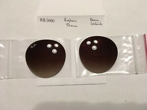 Authentic lenses - Rayban RB 2180 - Brown Gradient Polycarb