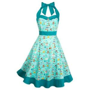 Disney Parks Dress Shop Disneyland Park Life Icons Dress Women's Dress XS-3X