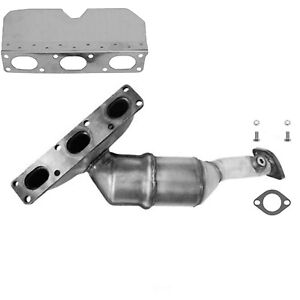 Exhaust Manifold with Integrated Catalytic Converter-Direct Fit Rear Eastern Mfg