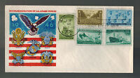 1946 FDC Washington DC USA WW2 Commemoration of Armed Forces first day cover
