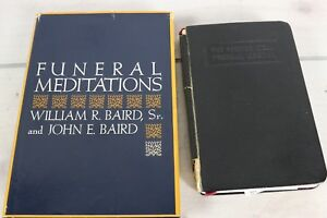 Lot 2 The Pastor's Ideal Funeral Manual 1942 Funeral Meditations Prayer Books