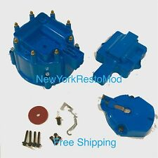 GM HEI Distributor BLUE cap rotor set SBC BBC 50K or 65K volt Chevy NEW Kit Set