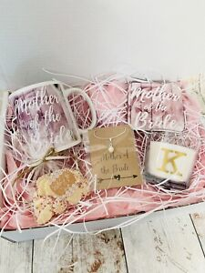 Personalised Mother Of The Bride Wedding Gift Box Hamper Thank You Shabby Chic