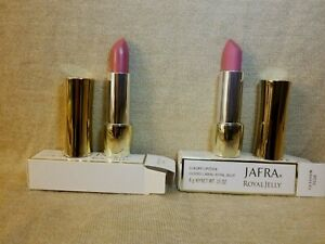 Jafra Royal Jelly Luxury Lipstick (Lot of 2-Rose Nouveau) New in Box