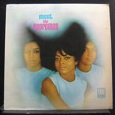 The Supremes - Meet The Supremes LP VG+ MT 606 Mono Motown Vinyl Record