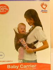 NIB 5 Position Baby Carrier WITH ALL SEASON HOODED COVER Infant to Toddler NEW
