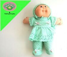 "Vintage 1985 Cabbage Patch Kids ~ NEW BORN BABY GIRL ~ 12"" Tall Plush / Beanie"