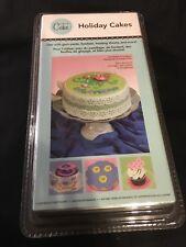 SEALED NEW CRICUT CAKE HOLIDAY CAKES CARTRIDGE USE WITH GUM PASTE,FONDANT,FROSTI