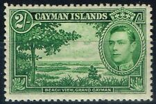 Lightly Hinged Single Caymanian Stamps