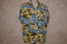 Crazy Horse Womens Shirt Top Blouse Size XL  4th of July, farm life  #522