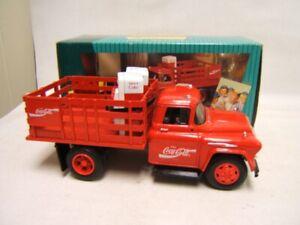 Ertl Coca Cola Stake Truck w/ Vending Machines & Dolly MIB 1/34 Scale 1957