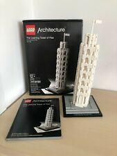 Lego Architecture 21015 The Leaning Tower of Pisa 100% Complete w/ Box & Manual