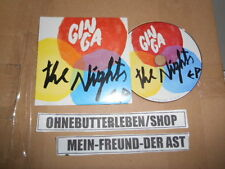 CD Indie Ginga - The Nights EP (4 Song) Promo MONKEY MUSIC