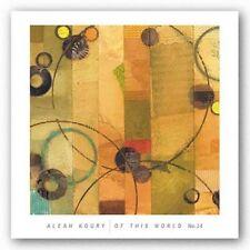 ART PRINT Of This World No 14 Aleah Koury