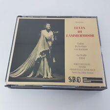 Donizetti LUCIA DI LAMMERMOOR | 2 CD Box STANDING ROOM 800 La Scala 1954 Callas