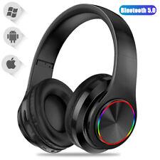 Super Bass Wireless Bluetooth Headphones Foldable Stereo Earphones Headsets Mic