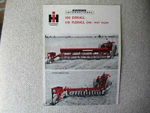 International McCormick 100 110 diskall brochure