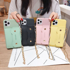 Back Leather Wallet TPU Phone Case Cover For iPhone 11 Max X XR Xs 7 8 SE 2020