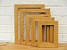 Photo/Picture Frame/Oak Finish/ Pine Frame/Rustic/Hand Finished/Choice 5 Sizes