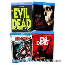 The Evil Dead: Complete Series Movies 1 2 3 4 Army of Darkness Box/BluRay Set(s)