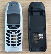 Gehäuse Cover Oberschale passend für Nokia 6310 / 6310i in Silber