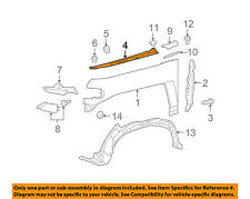 TOYOTA OEM 07-14 FJ Cruiser Fender-Apron Cover Panel Right 5380535011