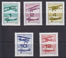 Mint Never Hinged/MNH Aviation Hungarian Stamps