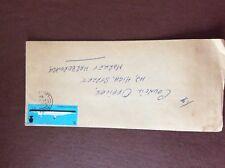 b1u ephemera stamped franked envelope 1969 rms queen elizabeth ii