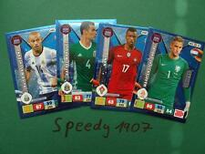 PANINI ROAD TO RUSSIA 2018 fifa world cup All 9 experts de nouveaux ADRENALYN