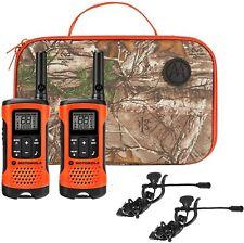 Motorola T265 Rechargeable Sportsman 2-way Radios Walkie Talkies Kit 2-pack