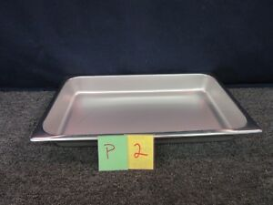 """Vollrath Polarware 7.5 QT Stainless SS Cooking Steam Table Pan Shaffer 12"""" X 20"""""""