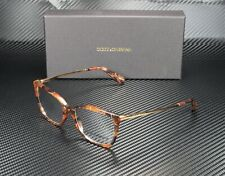 DOLCE & GABBANA DG3243 3131 Cube Bronze Demo Lens 52 mm Women's Eyeglasses