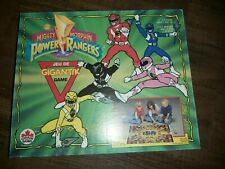 Rare Vtg Gigantik Mighty Morphin Power Rangers 1994 Canada Games Unpunched