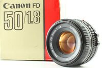 [Near Mint  in Box] CANON NEW FD 50mm f/1.8 MF Lens from JAPAN #33