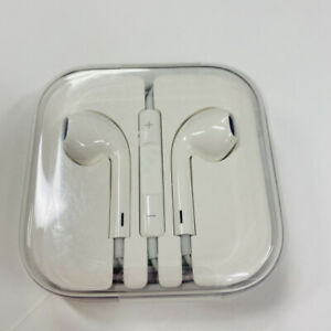 Genuine Apple Wired Earbuds OEM 3.5mm Jack Earpods Headphones With Microphone