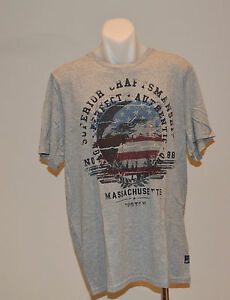 Buffalo David Bitton Mens Printed T Shirt -  GREY - SIZES - XL & XXL  - NEW