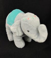 "Carter's Baby Circus Elephant Plush Stuffed Animal  Toy 8"""