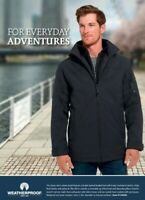 Weatherproof Men's Ultra Tech Stretch Jacket in Charcoal / SIZE L / windproof