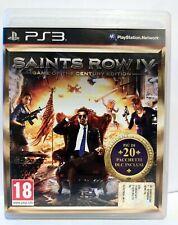 SAINTS ROW IV GAME OF THE CENTURY ED. (ENG+ITA) [Playstation 3 PS3 2014] Usato G