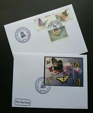 Kosovo Butterflies 2012 Insect Flower Orchid Flora Fauna (FDC pair)