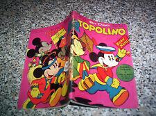 TOPOLINO LIBRETTO N.36 ORIGINALE MONDADORI DISNEY 1951 OTTIMO + BOLLINO E GIOCO