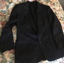 Academy Awards Allyn Saint George Mens Black Blazer Sport Coat Jacket Size 46